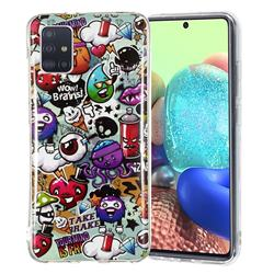 Trash Noctilucent Soft TPU Back Cover for Samsung Galaxy A71 5G