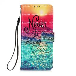 Colorful Dream Catcher 3D Painted Leather Wallet Case for Samsung Galaxy A71 5G