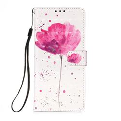 Watercolor 3D Painted Leather Wallet Case for Samsung Galaxy A71 5G