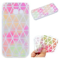 Rainbow Triangle Super Clear Soft TPU Back Cover for Samsung Galaxy A7 2017 A720