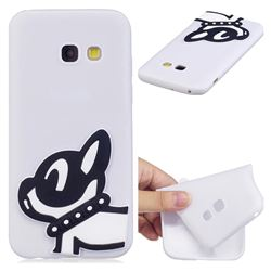 Cute Dog Soft 3D Silicone Case for Samsung Galaxy A7 2017 A720