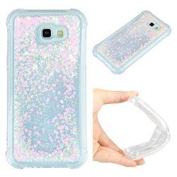 Dynamic Liquid Glitter Sand Quicksand Star TPU Case for Samsung Galaxy A7 2017 A720 - Pink