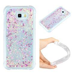 Dynamic Liquid Glitter Sand Quicksand Star TPU Case for Samsung Galaxy A7 2017 A720 - Rose