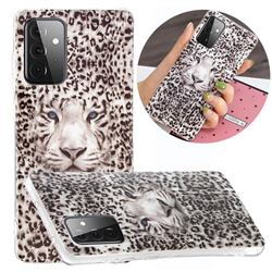 Leopard Tiger Noctilucent Soft TPU Back Cover for Samsung Galaxy A72 5G