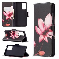 Lotus Flower Leather Wallet Case for Samsung Galaxy A72 (4G, 5G)