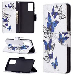 Flying Butterflies Leather Wallet Case for Samsung Galaxy A72 (4G, 5G)