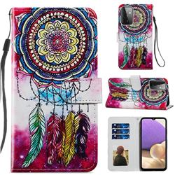 Dreamcatcher Smooth Leather Phone Wallet Case for Samsung Galaxy A72 (4G, 5G)