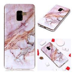 Classic Powder Soft TPU Marble Pattern Phone Case for Samsung Galaxy A8+ (2018)