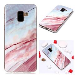 Elegant Soft TPU Marble Pattern Phone Case for Samsung Galaxy A8+ (2018)