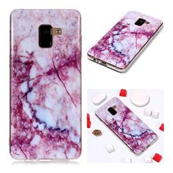 Bloodstone Soft TPU Marble Pattern Phone Case for Samsung Galaxy A8+ (2018)