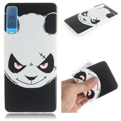 Angry Bear IMD Soft TPU Cell Phone Back Cover for Samsung Galaxy A7 (2018)