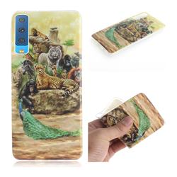 Beast Zoo IMD Soft TPU Cell Phone Back Cover for Samsung Galaxy A7 (2018)