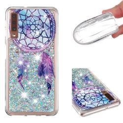 Fantasy Wind Chimes Dynamic Liquid Glitter Quicksand Soft TPU Case for Samsung Galaxy A7 (2018) A750