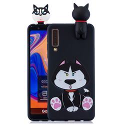 Staying Husky Soft 3D Climbing Doll Soft Case for Samsung Galaxy A7 (2018) A750