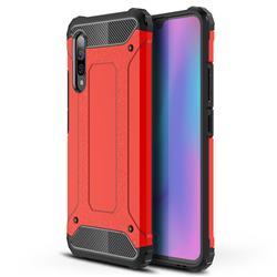 King Kong Armor Premium Shockproof Dual Layer Rugged Hard Cover for Samsung Galaxy A90 5G - Big Red