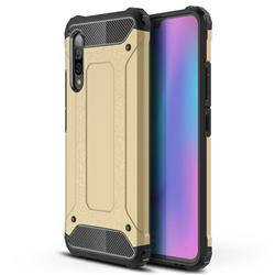 King Kong Armor Premium Shockproof Dual Layer Rugged Hard Cover for Samsung Galaxy A90 5G - Champagne Gold