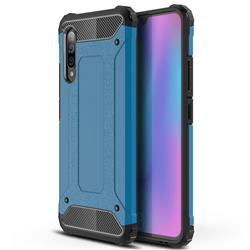 King Kong Armor Premium Shockproof Dual Layer Rugged Hard Cover for Samsung Galaxy A90 5G - Sky Blue