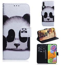 Sleeping Panda PU Leather Wallet Case for Samsung Galaxy A90 5G