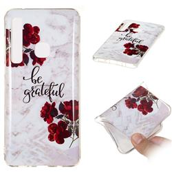 Rose Soft TPU Marble Pattern Phone Case for Samsung Galaxy A9 (2018) / A9 Star Pro / A9s