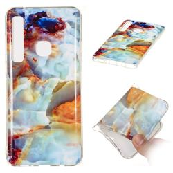 Fire Cloud Soft TPU Marble Pattern Phone Case for Samsung Galaxy A9 (2018) / A9 Star Pro / A9s