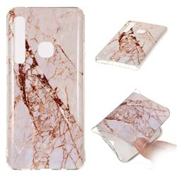 White Crushed Soft TPU Marble Pattern Phone Case for Samsung Galaxy A9 (2018) / A9 Star Pro / A9s