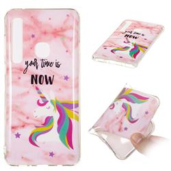 Unicorn Soft TPU Marble Pattern Phone Case for Samsung Galaxy A9 (2018) / A9 Star Pro / A9s