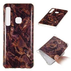 Brown Soft TPU Marble Pattern Phone Case for Samsung Galaxy A9 (2018) / A9 Star Pro / A9s