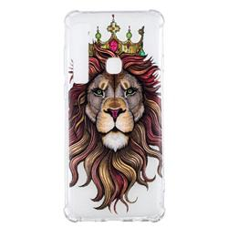Lion King Anti-fall Clear Varnish Soft TPU Back Cover for Samsung Galaxy A9 (2018) / A9 Star Pro / A9s