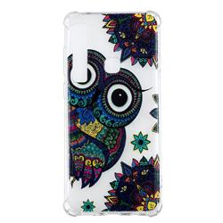 Owl Totem Anti-fall Clear Varnish Soft TPU Back Cover for Samsung Galaxy A9 (2018) / A9 Star Pro / A9s