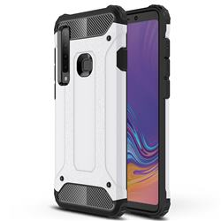King Kong Armor Premium Shockproof Dual Layer Rugged Hard Cover for Samsung Galaxy A9 (2018) / A9 Star Pro / A9s - White