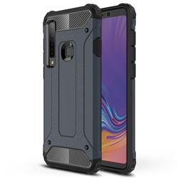 King Kong Armor Premium Shockproof Dual Layer Rugged Hard Cover for Samsung Galaxy A9 (2018) / A9 Star Pro / A9s - Navy