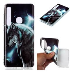 Fierce Wolf Soft TPU Cell Phone Back Cover for Samsung Galaxy A9 (2018) / A9 Star Pro / A9s