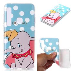 Dumbo Elephant Soft TPU Cell Phone Back Cover for Samsung Galaxy A9 (2018) / A9 Star Pro / A9s