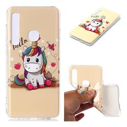 Hello Unicorn Soft TPU Cell Phone Back Cover for Samsung Galaxy A9 (2018) / A9 Star Pro / A9s