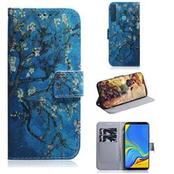 Apricot Tree PU Leather Wallet Case for Samsung Galaxy A9 (2018) / A9 Star Pro / A9s
