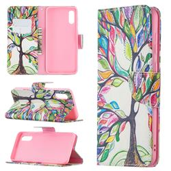 The Tree of Life Leather Wallet Case for Samsung Galaxy A02