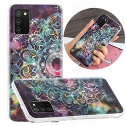 Datura Flowers Noctilucent Soft TPU Back Cover for Samsung Galaxy A02s