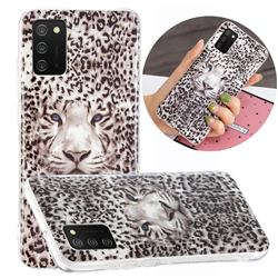 Leopard Tiger Noctilucent Soft TPU Back Cover for Samsung Galaxy A02s