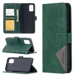 Binfen Color BF05 Prismatic Slim Wallet Flip Cover for Samsung Galaxy A02s - Green