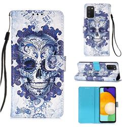 Cloud Kito 3D Painted Leather Wallet Case for Samsung Galaxy A03s