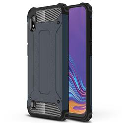 King Kong Armor Premium Shockproof Dual Layer Rugged Hard Cover for Samsung Galaxy A10 - Navy