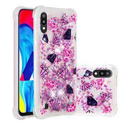 Diamond Dynamic Liquid Glitter Sand Quicksand Star TPU Case for Samsung Galaxy A10