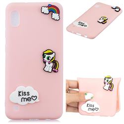 Kiss me Pony Soft 3D Silicone Case for Samsung Galaxy A10