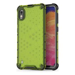 Honeycomb TPU + PC Hybrid Armor Shockproof Case Cover for Samsung Galaxy A10 - Green
