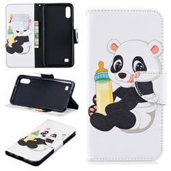 Baby Panda Leather Wallet Case for Samsung Galaxy A10