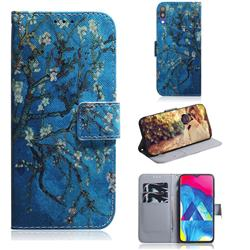 Apricot Tree PU Leather Wallet Case for Samsung Galaxy A10