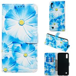 Orchid Flower PU Leather Wallet Case for Samsung Galaxy A10