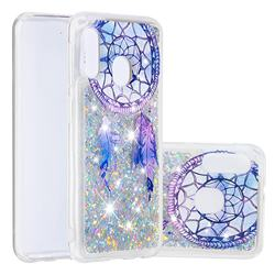 Fantasy Wind Chimes Dynamic Liquid Glitter Quicksand Soft TPU Case for Samsung Galaxy A10e