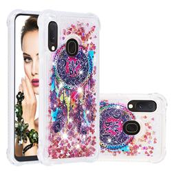 Seal Wind Chimes Dynamic Liquid Glitter Sand Quicksand Star TPU Case for Samsung Galaxy A10e