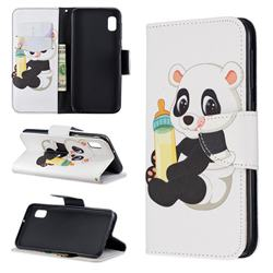 Baby Panda Leather Wallet Case for Samsung Galaxy A10e